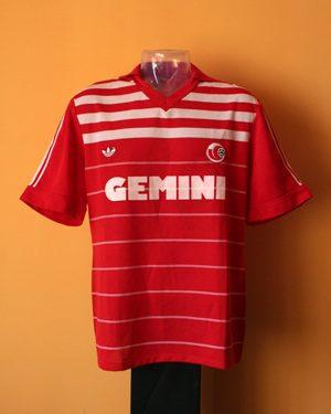 shirt match worn VARESE 1984-1985