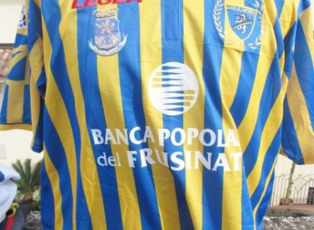 Shirt Match Worn FROSINONE 2008-2009
