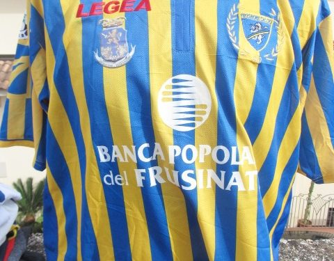 Shirt Match Worn FROSINONE 2008-2009