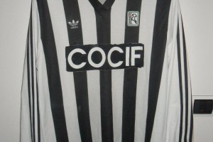 shirt match worn Ascoli 1989-1990