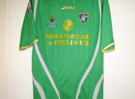 shirt  match worn FROSINONE 2010/2011