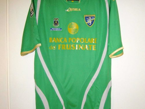 shirt  match worn FROSINONE 2010/2011