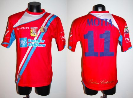 shirt match worn CATANIA 2011-2012