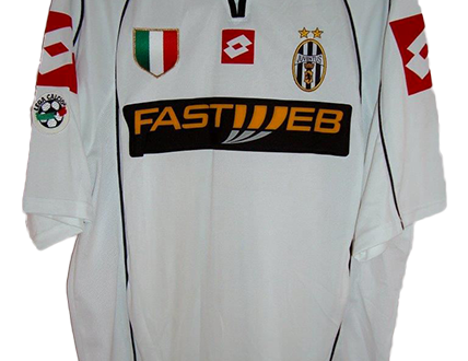 shirt match worn JUVENTUS 2002-2003