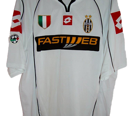 shirt match worn JUVENTUS 2002-2003