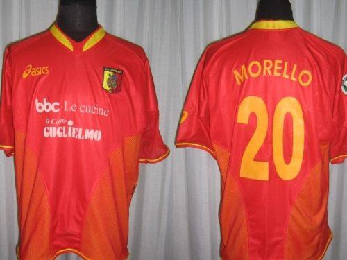 shirt match worn CATANZARO 2004/2005 Home