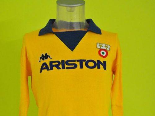 shirt match worn Juventus 1983-1984