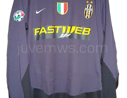 shirt match worn JUVENTUS 2003-2004