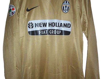 shirt match worn Juventus 2009-2010