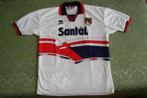 shirt match worn GENOA 1996-1997