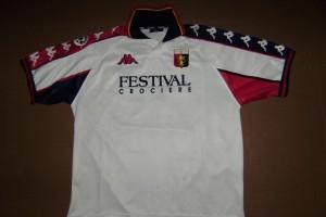 shirt  match worn GENOA 1999-2000
