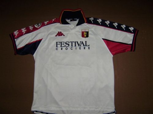 shirt  match worn GENOA 1999-2000
