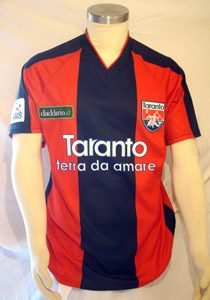 SHIRT MATCH WORN 2009-2010 TARANTO