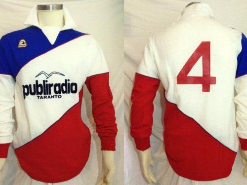 shirt  match worn TARANTO 1983-1984