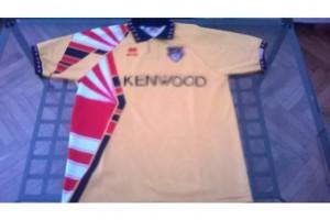 shirt match worn GENOA 1994-1995