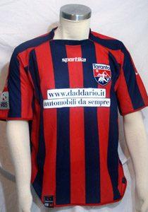 shirt match worn TARANTO 2011-2012