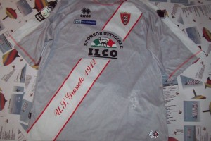 shirt match worn GROSSETO 2010-2011