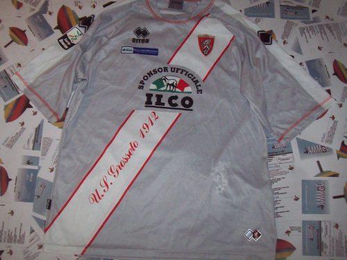 shirt match worn GROSSETO 2010-2011