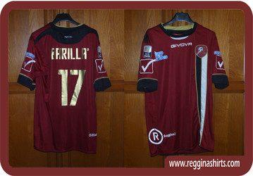 shirt match worn REGGINA 2012-2013