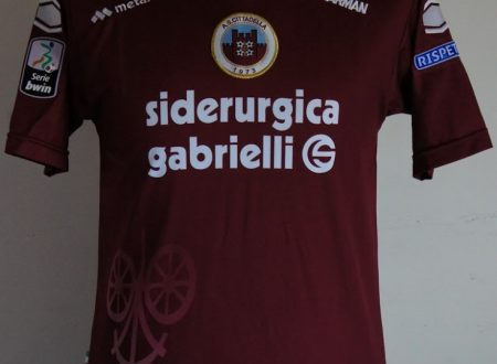 shirt match worn CITTADELLA 2012-2013