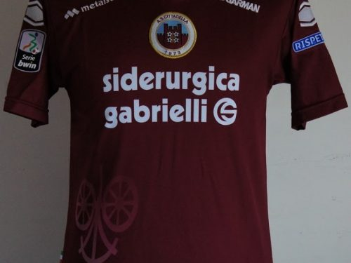 shirt match worn CITTADELLA 2012-2013