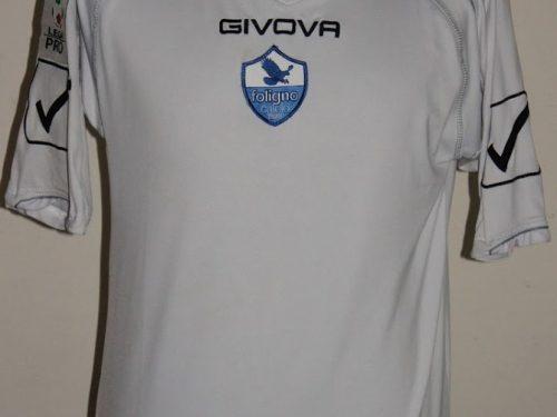 shirt match worn FOLIGNO 2010-2011