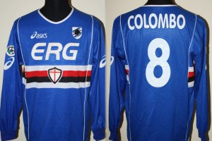 shirt match worn SAMPDORIA 2003-2004