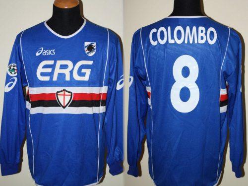 shirt match worn SAMPDORIA 2003-2004
