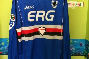 Shirt Match worn Sampdoria 2002-2003