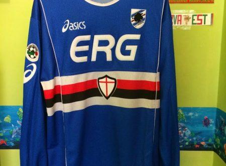 Shirt Match worn Sampdoria 2002-2003