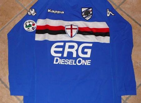 shirt match worn SAMPDORIA 2005-2006