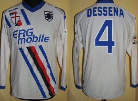 shirt  match worn SAMPDORIA 2010/2011
