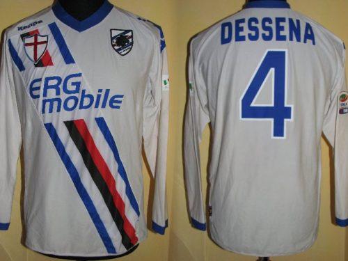 shirt  match worn SAMPDORIA 2010/2011