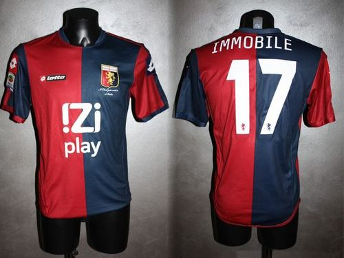 shirt match worn GENOA 2012-2013