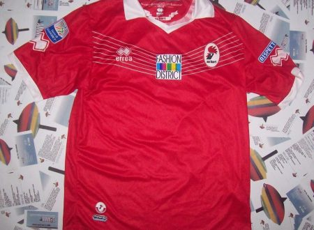 SHIRT MATCH WORN BARI 2013-2014