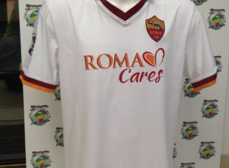 SHIRT MATCH WORN ROMA 2013-2014