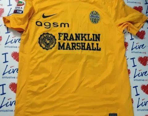 shirt match worn VERONA 2013-2014