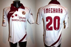 shirt match worn 2013-2014 LIVORNO