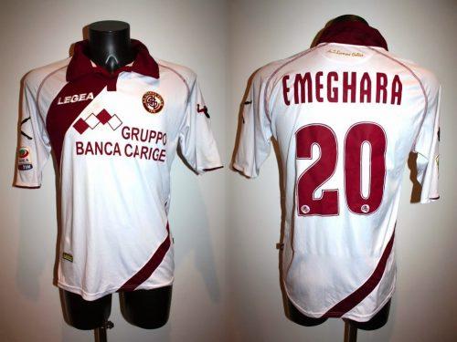 shirt match worn 2013-2014 LIVORNO
