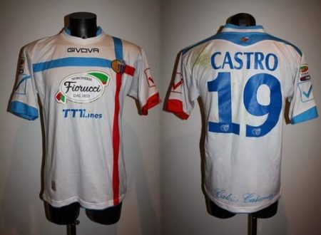 shirt match worn CATANIA 2013-2014