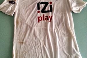 shirt match worn GENOA 2013-2014
