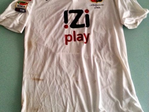shirt match worn GENOA 2013-2014