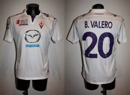 shirt match worn FIORENTINA 2013-2014