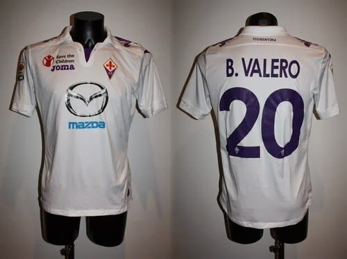 shirt match worn FIORENTINA 2013-2014