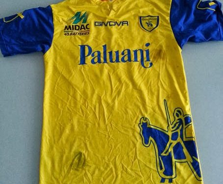 shirt match worn CHIEVO VERONA 2013-2014
