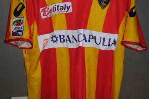shirt match worn Lecce 2010-2011