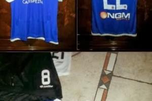 Shirt Match Worn SPEZIA 2013-2014