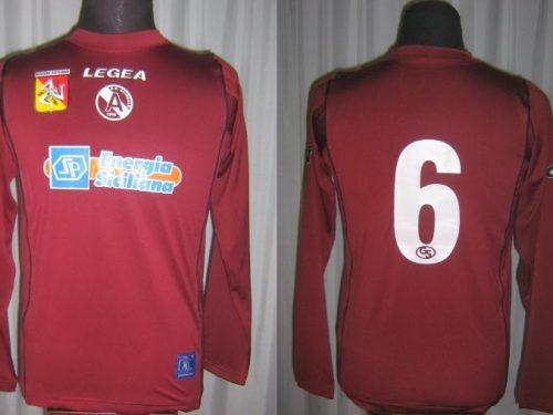 Shirt Match Worn ACIREALE 2005-2006