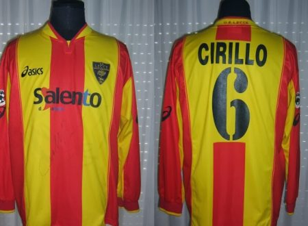 Shirt Match Worn LECCE 2002-2003