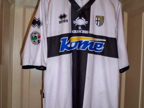 shirt match worn PARMA 2007-2008
